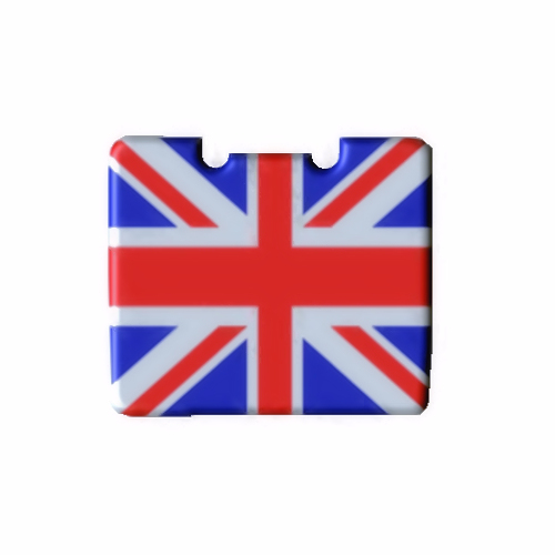 Lid for Pack & Go Trolley Union Jack